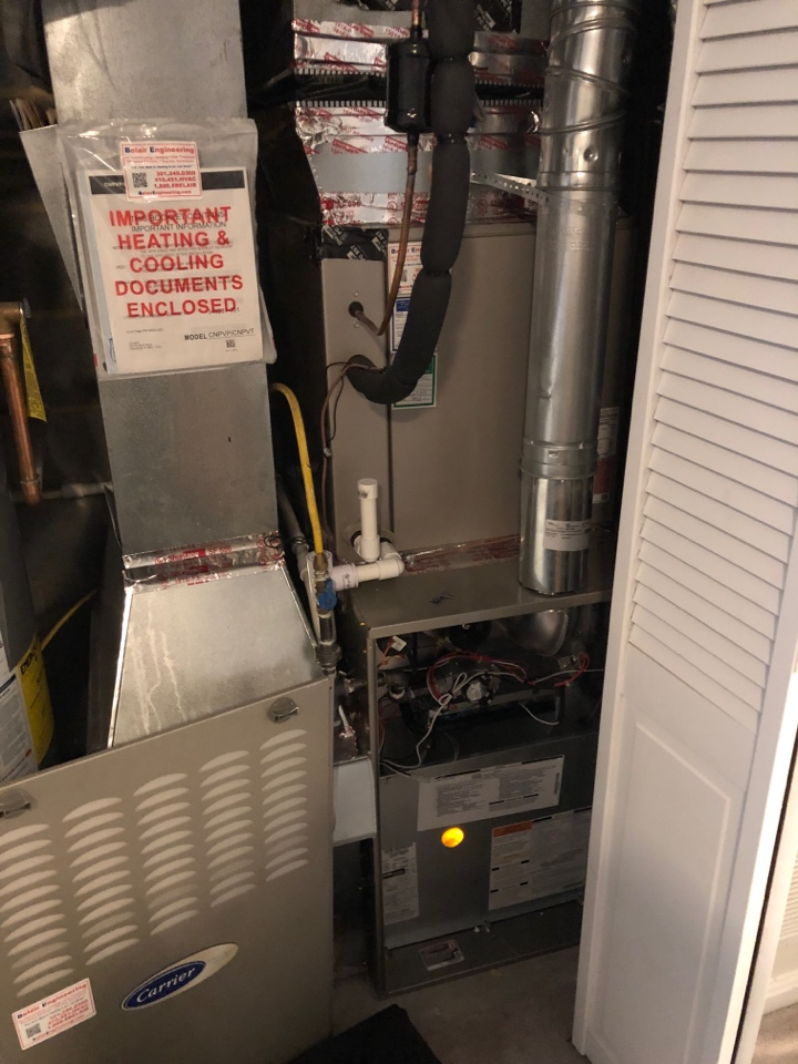 Odenton, MD - Furnace repairs