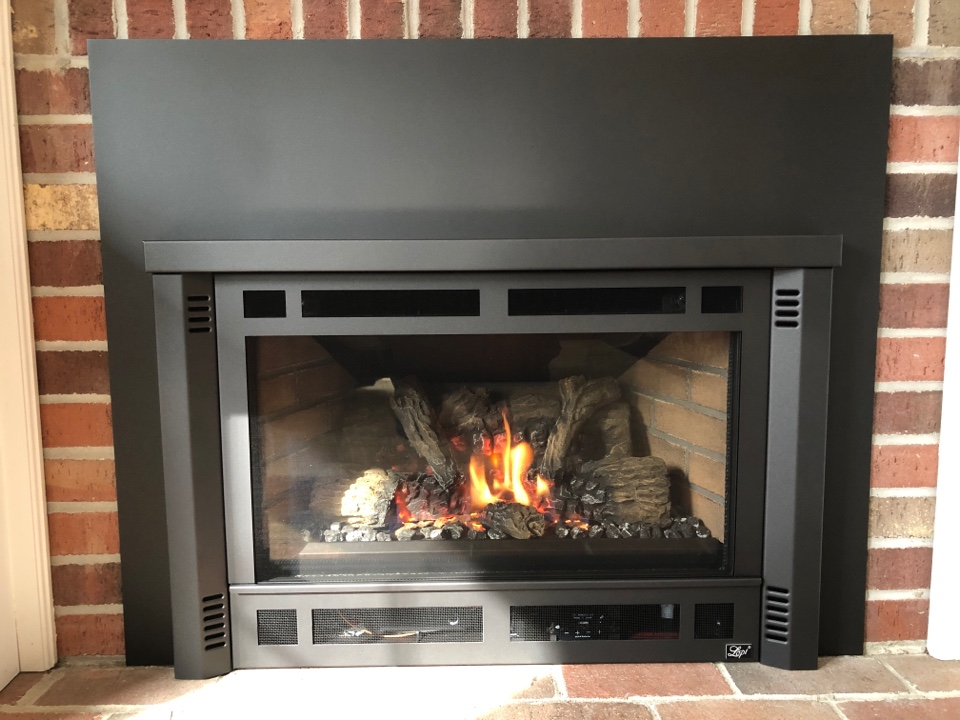 Crofton, MD - Fire place install