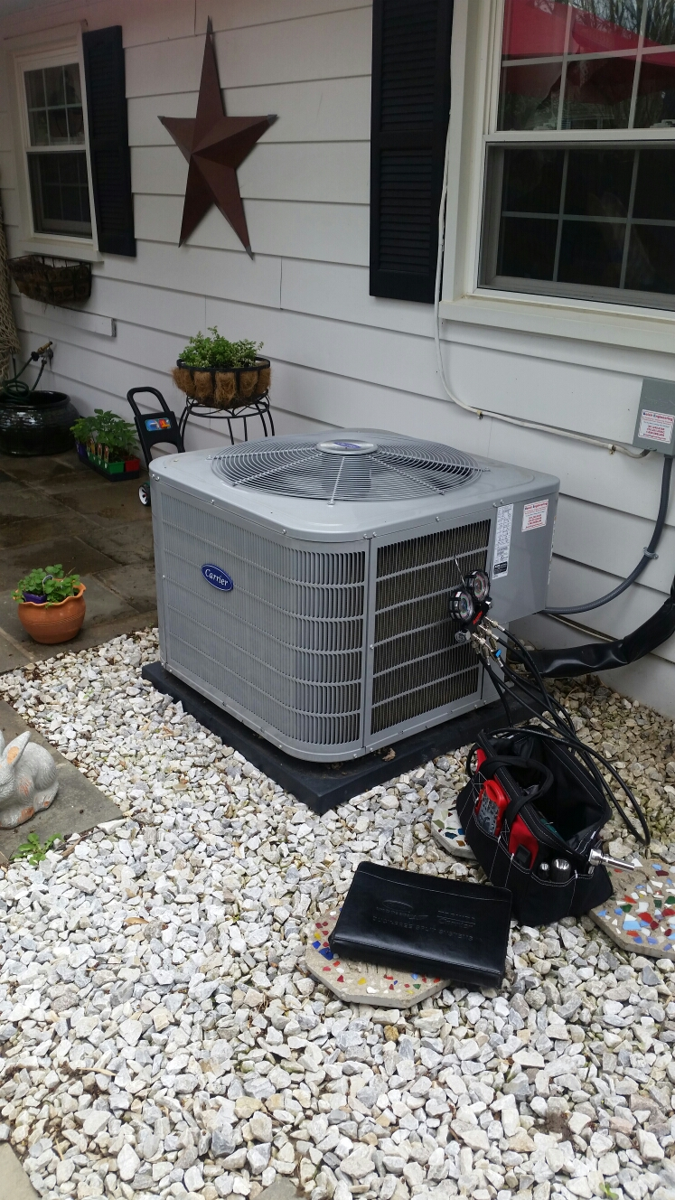 Gambrills, MD - AC air conditioner & cooling system service repair call in Gambrills Maryland 21054