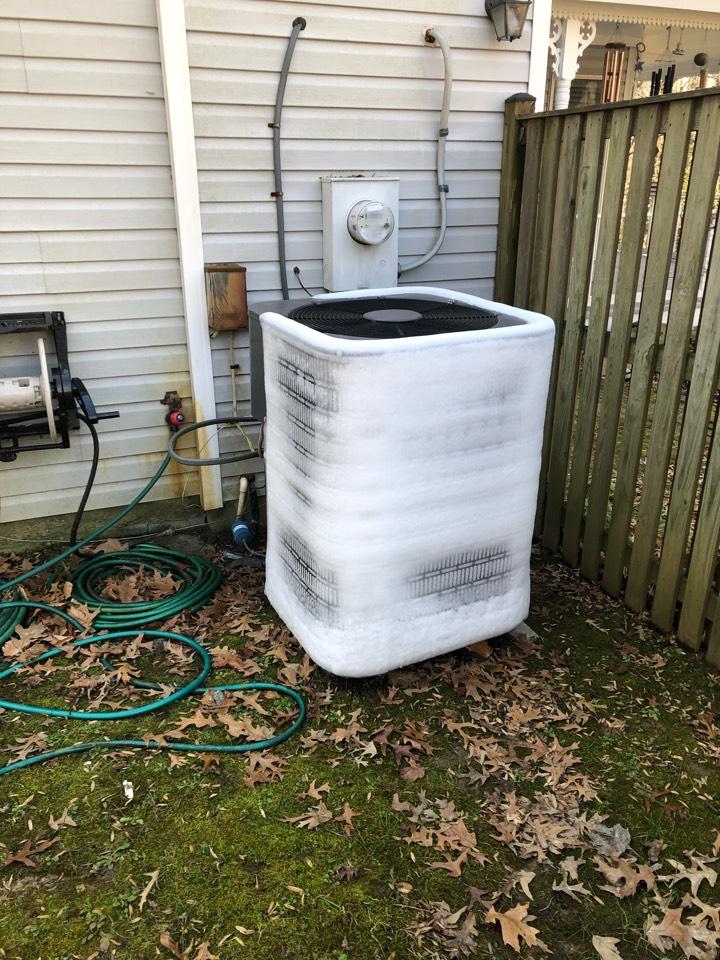 Chesapeake Beach, MD - Heat pump system