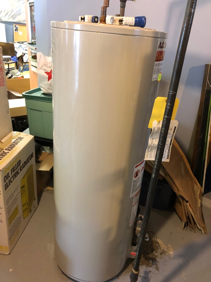 Glenn Dale, MD - Replace gas water heater AC coil furnace in attic