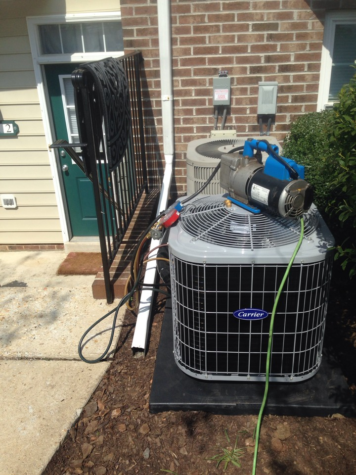 Crofton, MD - AC air conditioning & heating system replacement installation in Crofton Maryland 21114