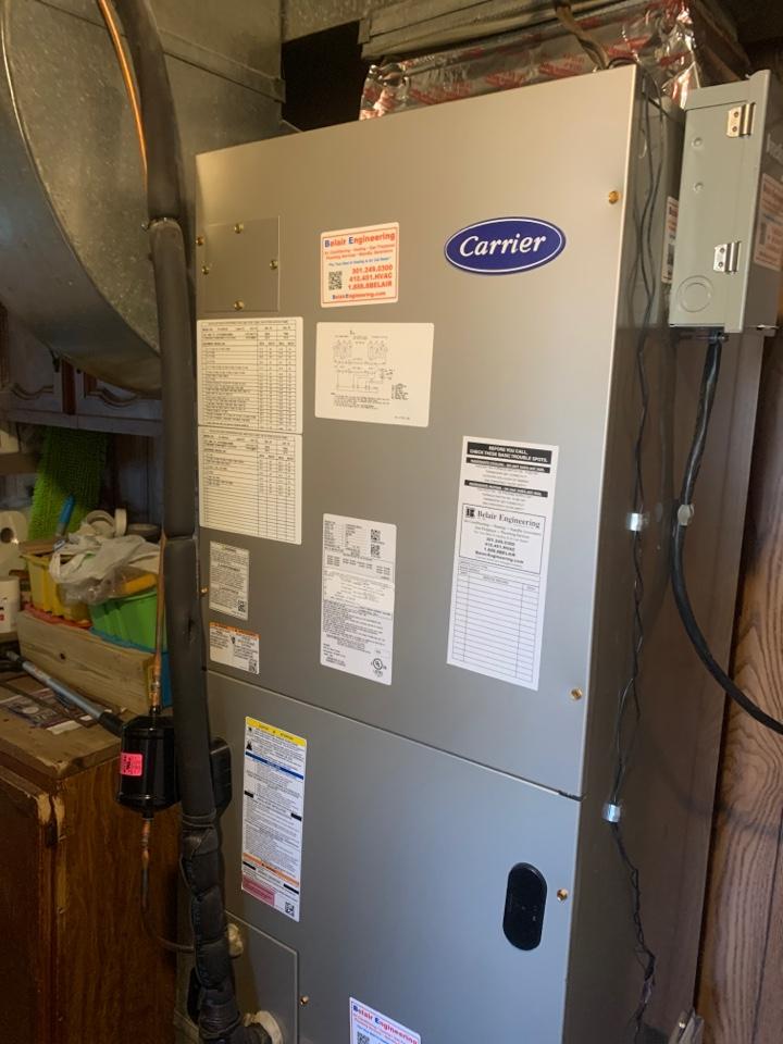 Severn, MD - HVAC system installation
