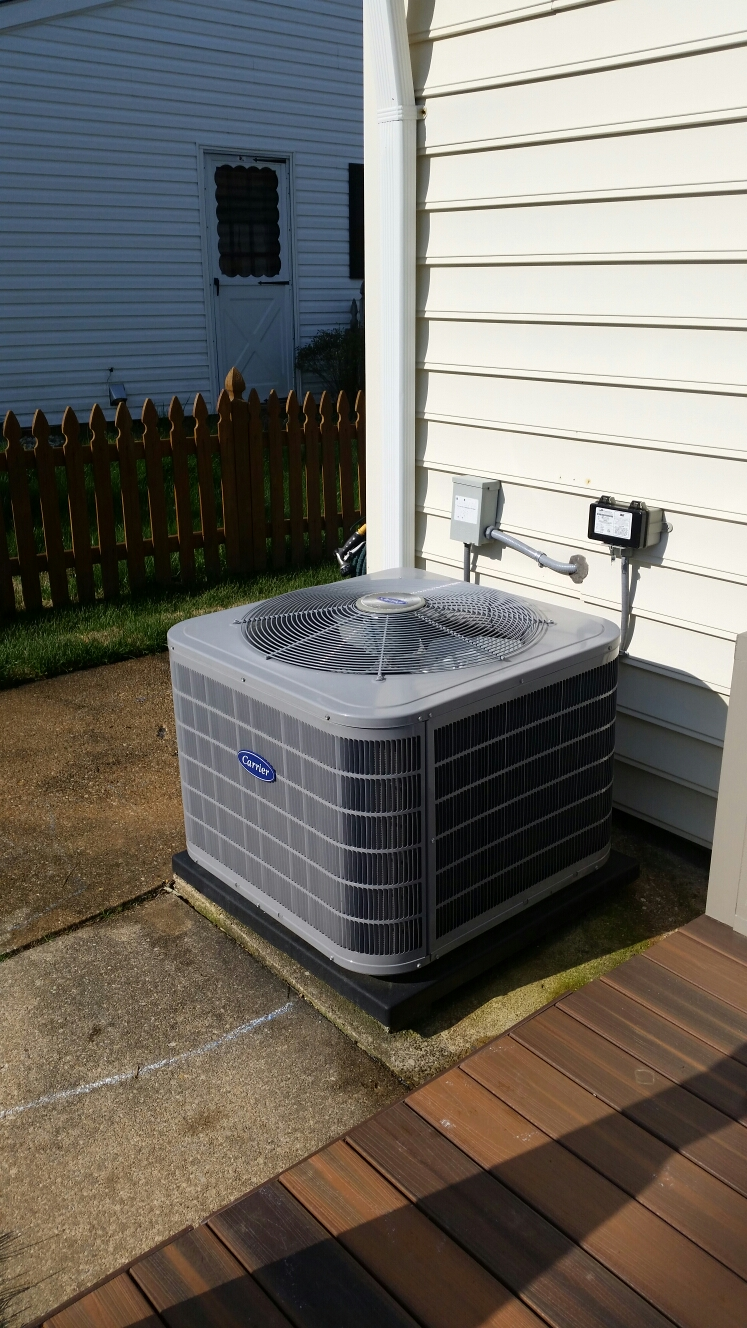 Crofton, MD - Heating & ac air conditioning system installation repair service call in Crofton Maryland 21114