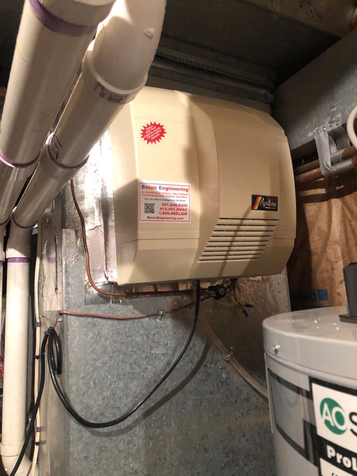Millersville, MD - Humidifier tune up