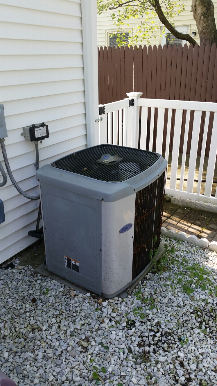 Crofton, MD - Heating & ac cooling system installation repair service call in Crofton Maryland 21114