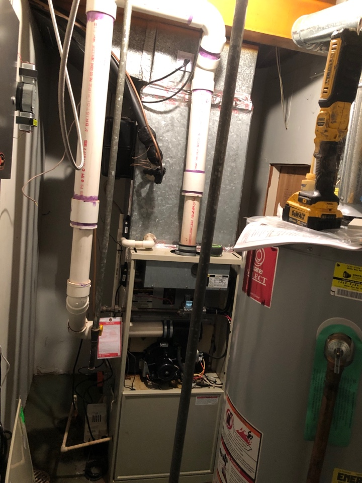 Clinton, MD - Replace 90+ gas furnace AC coil
