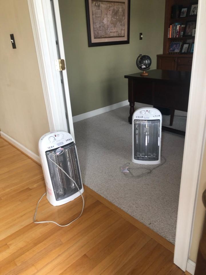 Millersville, MD - Drop off heaters