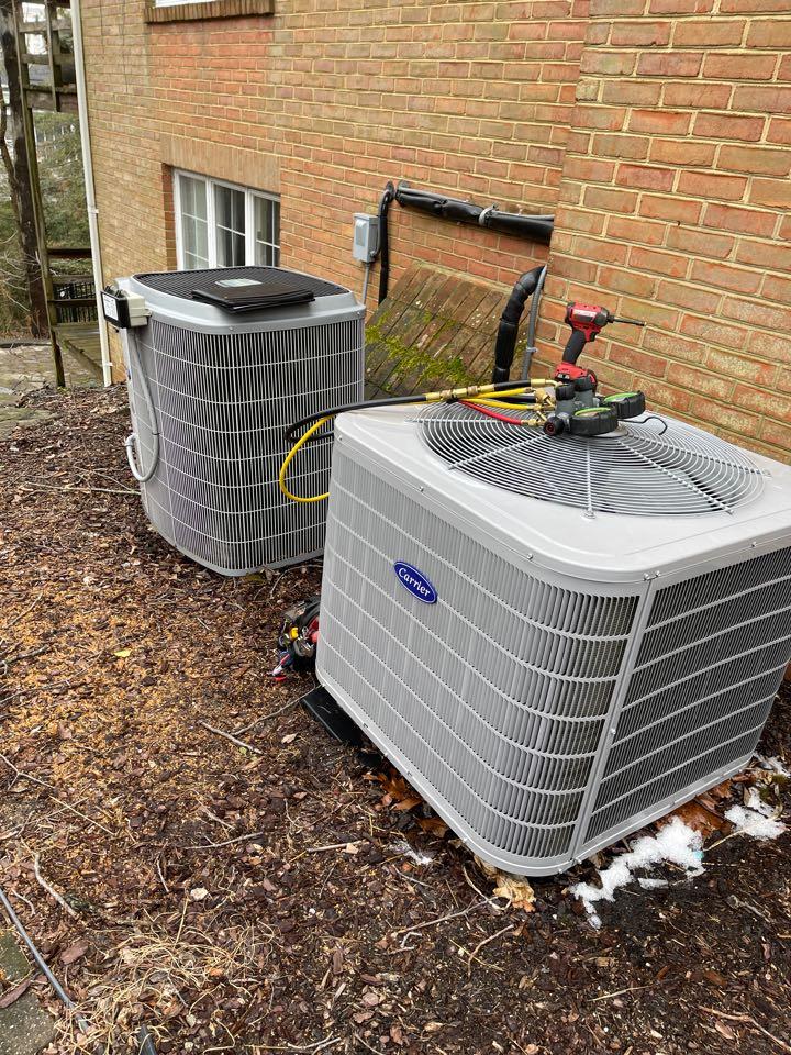 Arnold, MD - Carrier heat pump repair