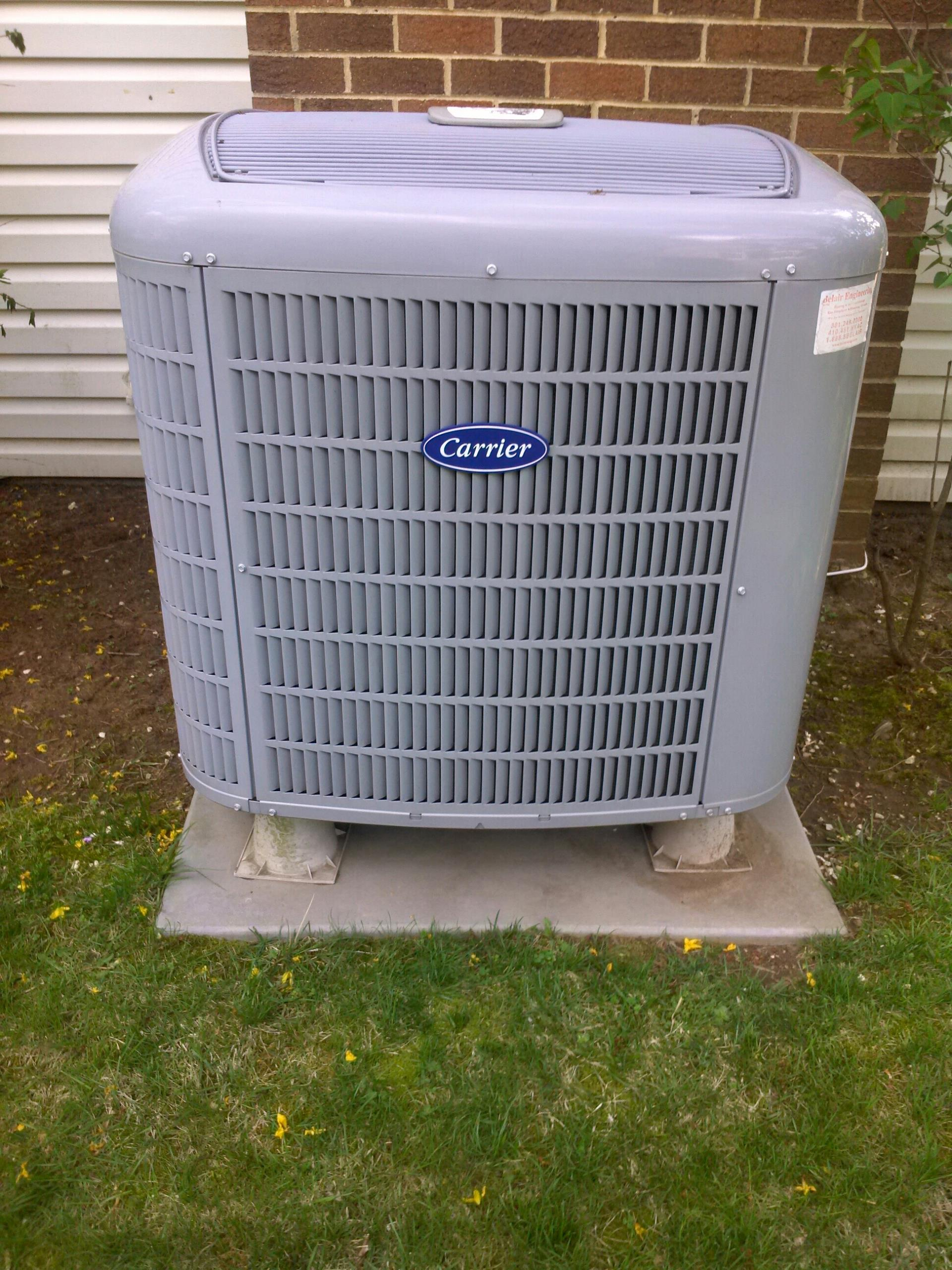 Crofton, MD - Heat pump repair service call in Crofton Maryland.