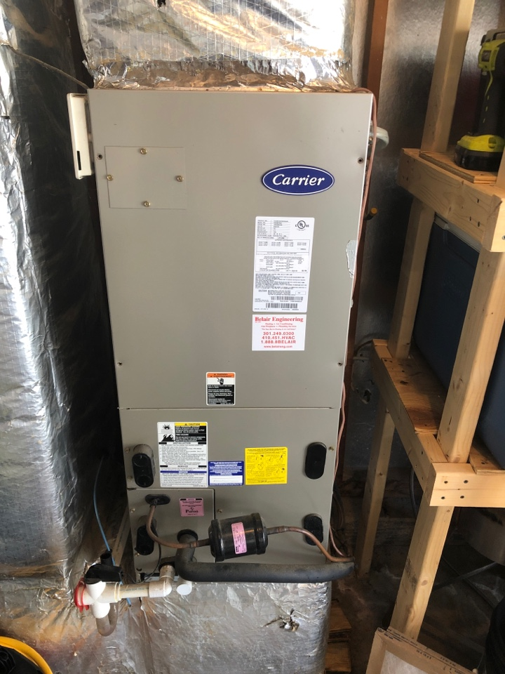 Millersville, MD - Carrier Heat Pump repair services with flood protection and Washable Filter