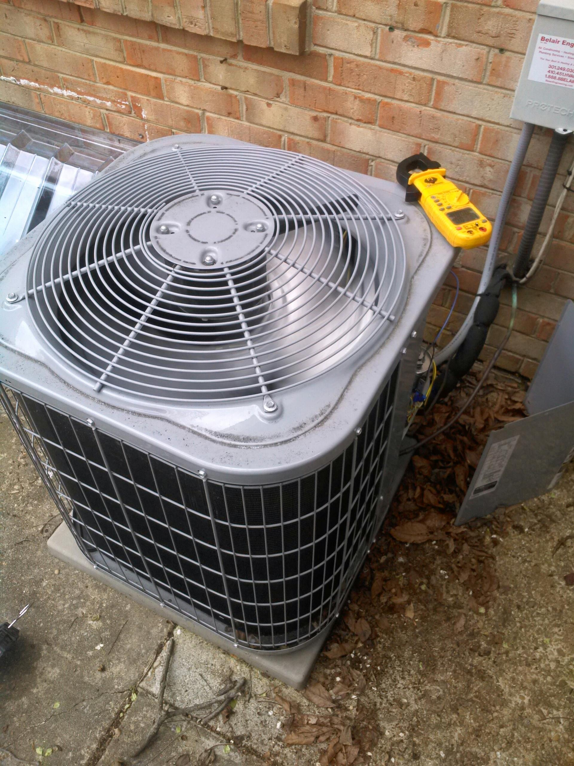 Crofton, MD - Crofton Maryland ac air conditioning system repair service call.