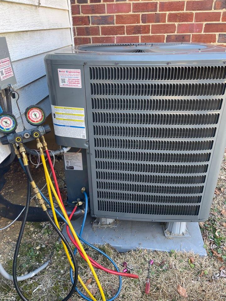 Temple Hills, MD - Goodman heat pump repair