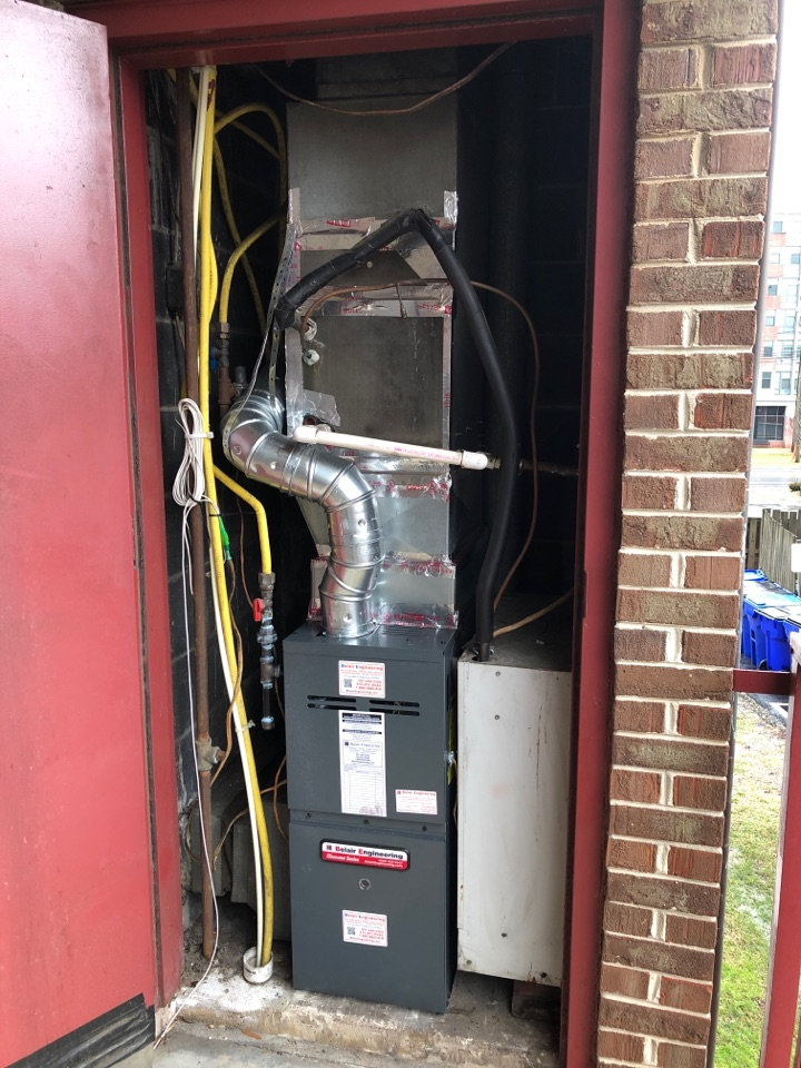 College Park, MD - Gas furnace