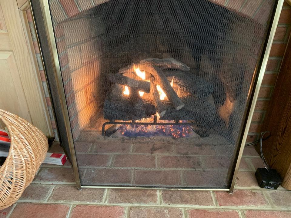 Millersville, MD - Fireplace tune up in Millersville