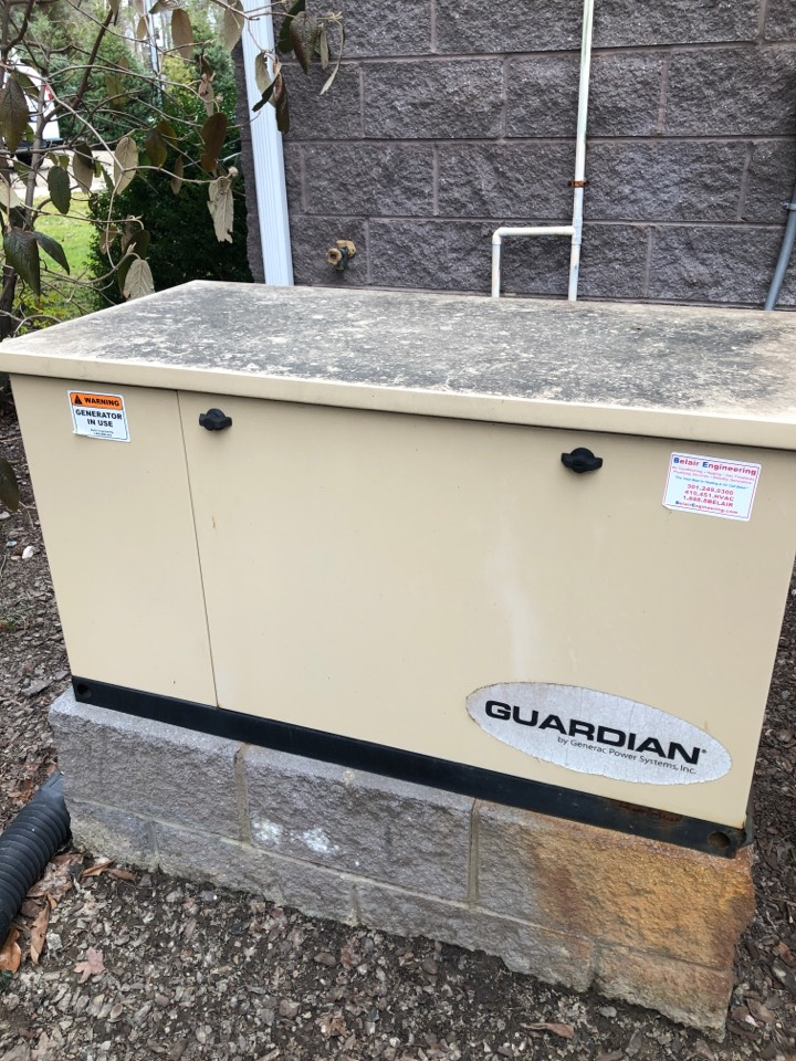 Deale, MD - Generator tune up