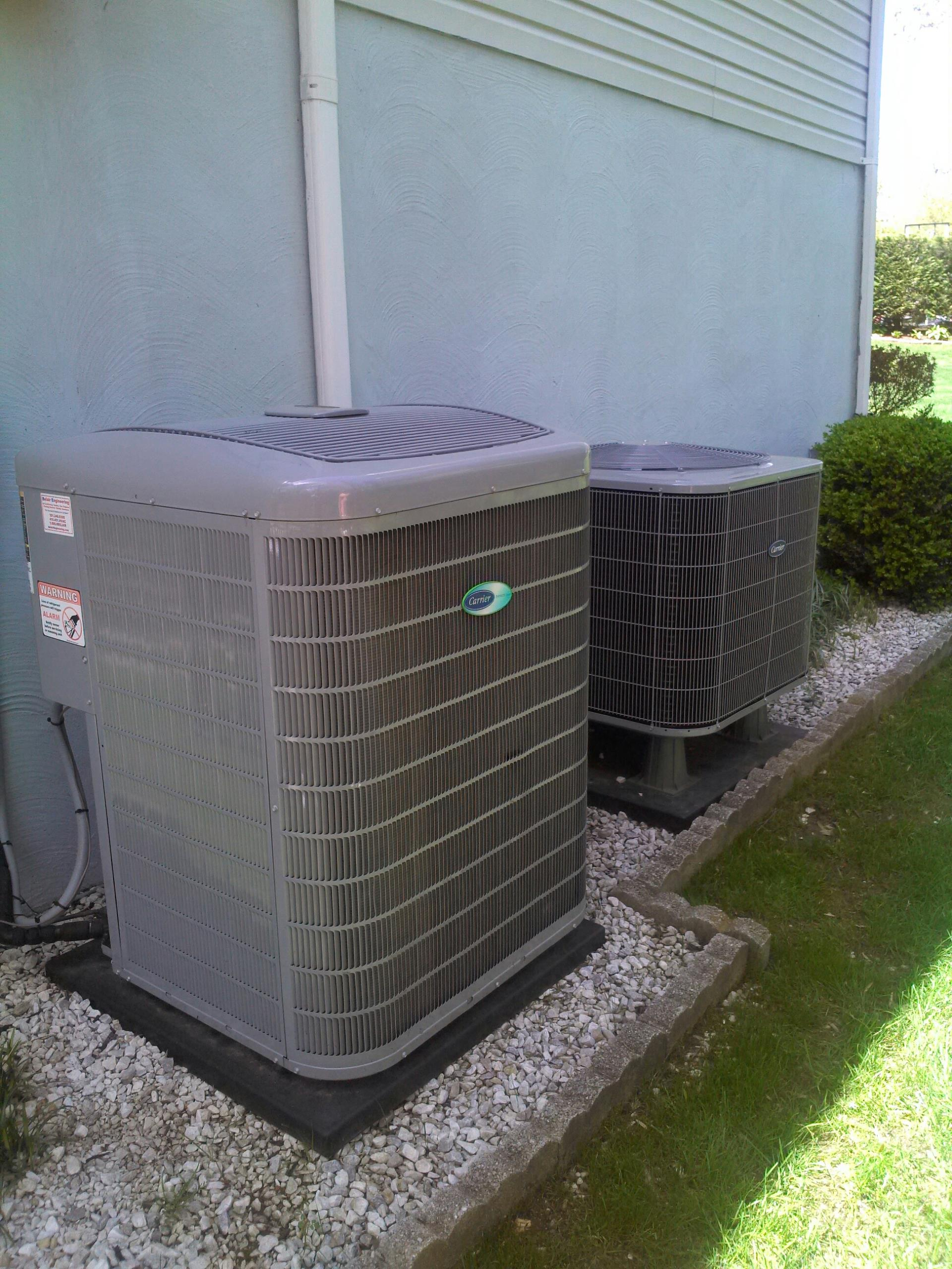 Crofton, MD - Crofton Maryland Carrier heat pump ac air conditioner & cooling system maintenance repair service call.