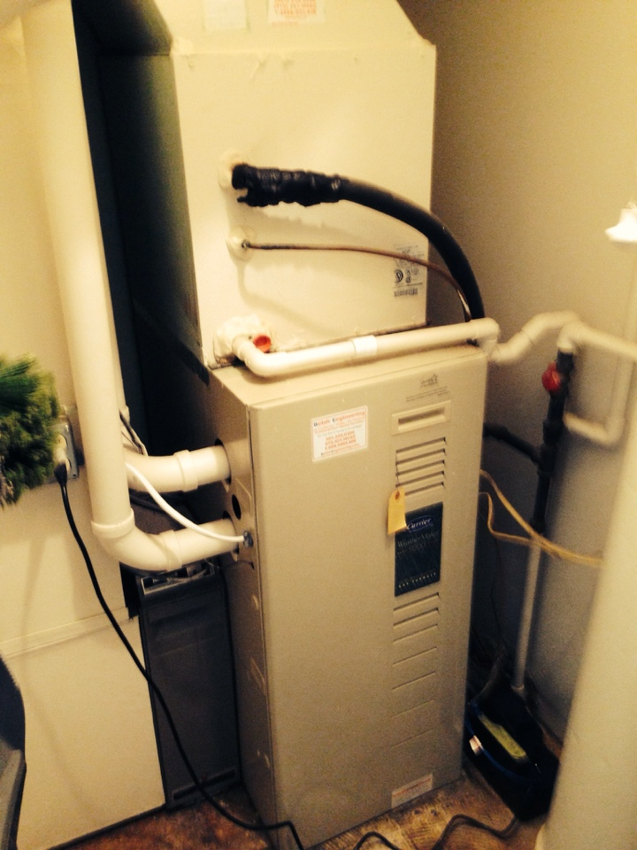 Crofton, MD - Crofton Maryland Carrier AC air conditioning & heating system replacement installation repair service call.