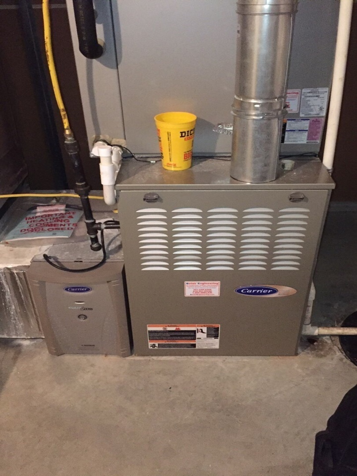 Gambrills, MD - Carrier infinity Ac repair services with Flood protection and air scrubber