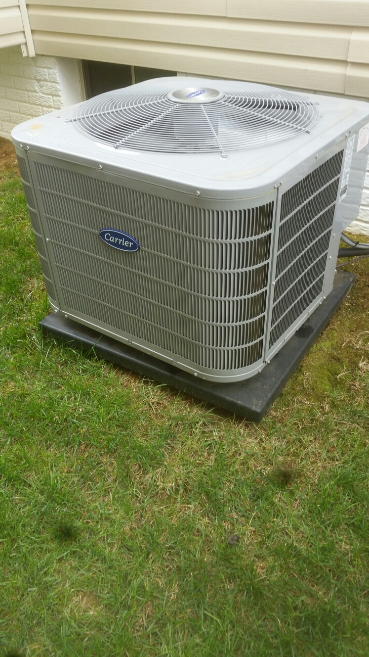 Crofton, MD - Crofton Maryland Carrier AC air conditioning & heating system installation maintenance repair service call.