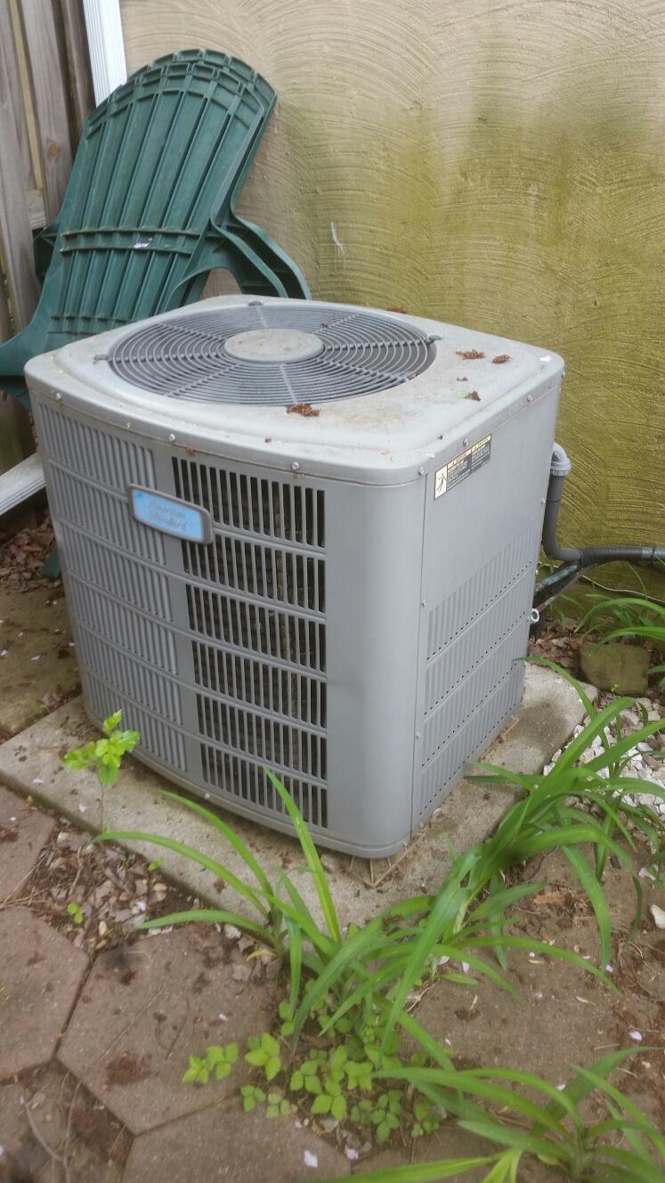 Crofton, MD - Crofton Maryland American Standard AC air conditioning & heating system installation maintenance repair service call.
