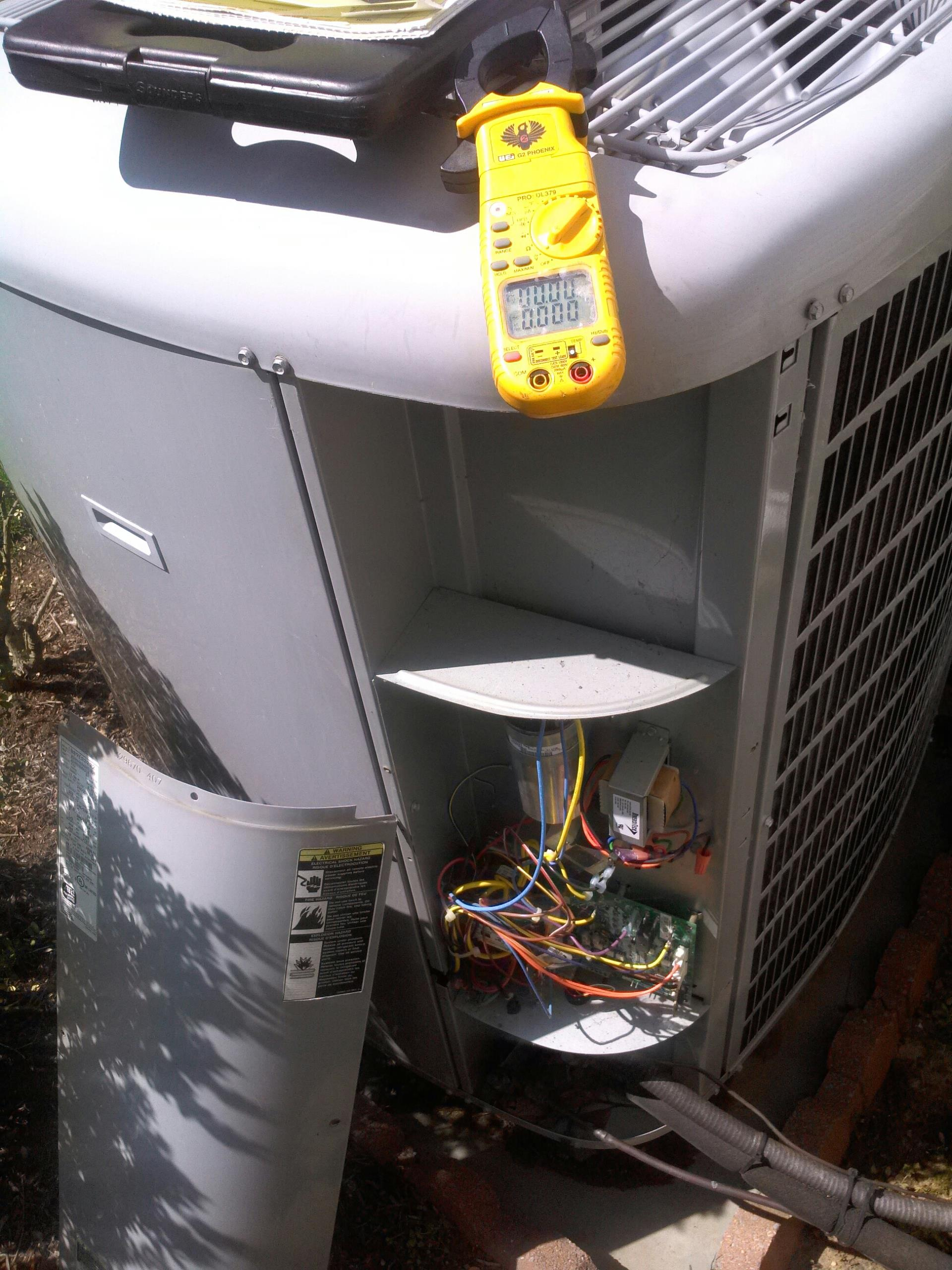 Crofton, MD - Crofton Maryland ac air conditioner & cooling system installation repair service call.