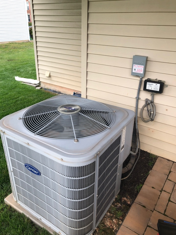 Odenton, MD - Carrier Ac maintenance repair services with Media Filtration