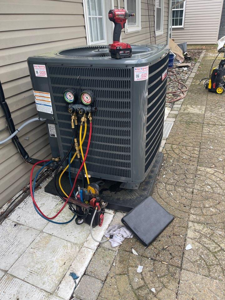 North Beach, MD - Goodman air conditioning repair