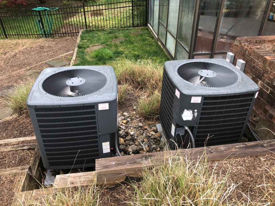 Edgewater, MD - 2x Goodman Ac repair services with Flood protection and high efficiency filters