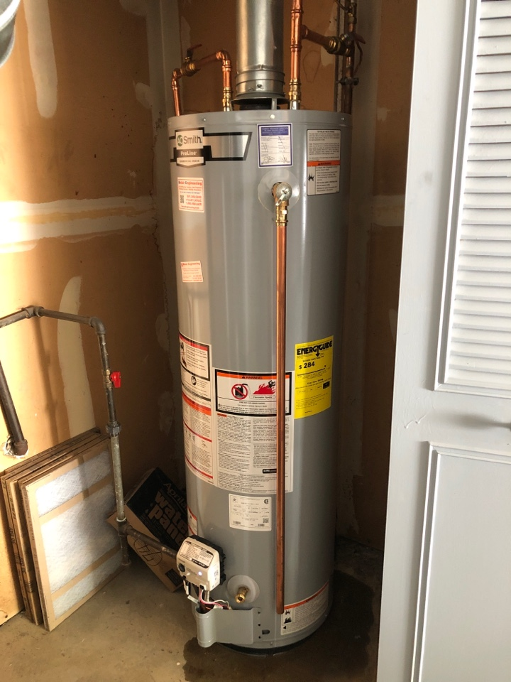 Crofton, MD - HWH repairs gas valve replacement