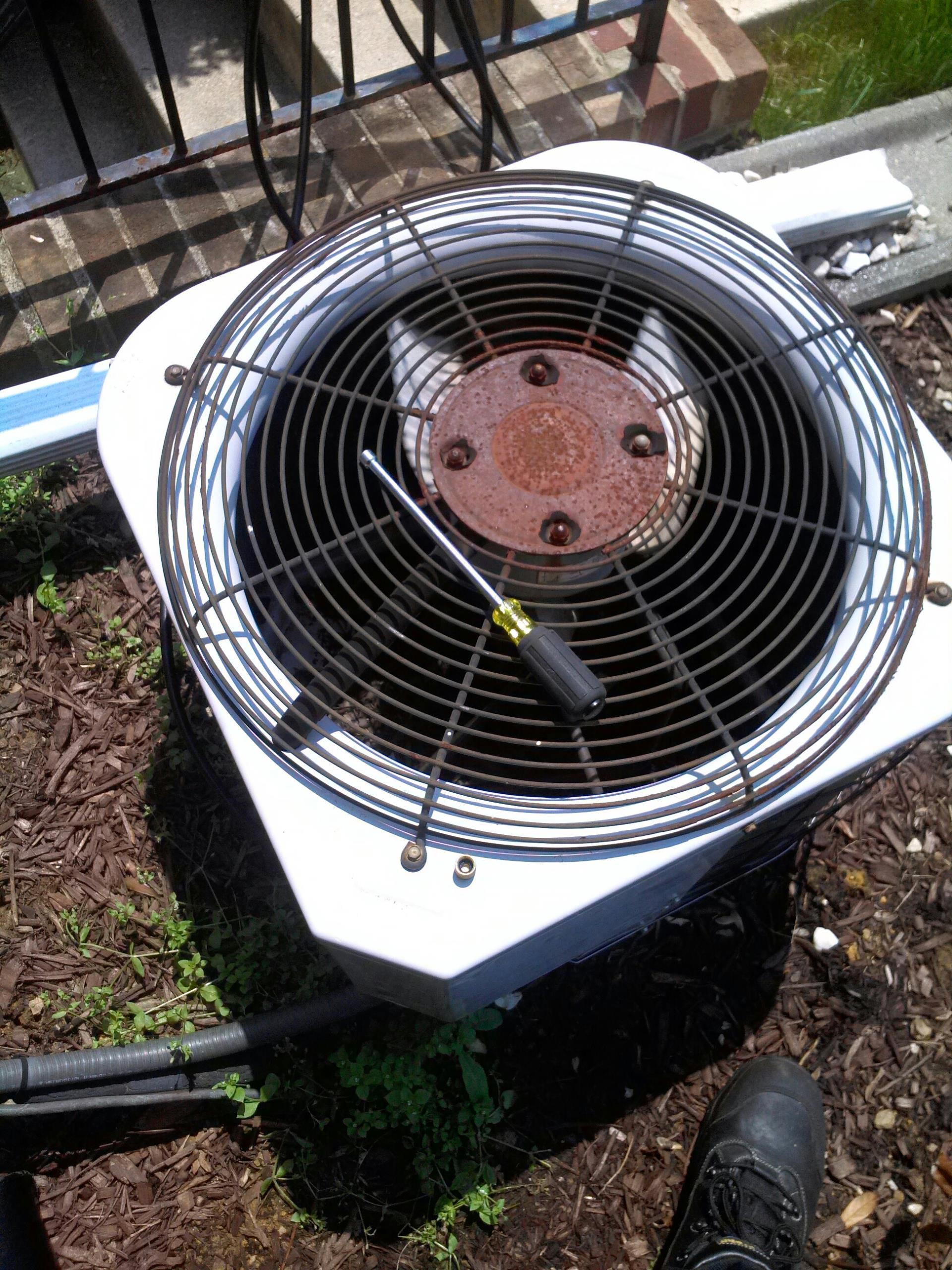 Crofton, MD - AC air conditioning system installation repair service call in Crofton Maryland 21114