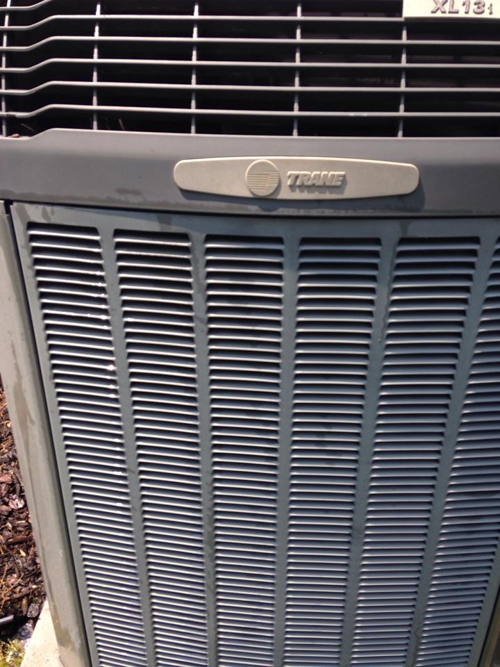 Crofton, MD - Crofton Maryland Trane ac air conditioning HVAC system installation repair service call.