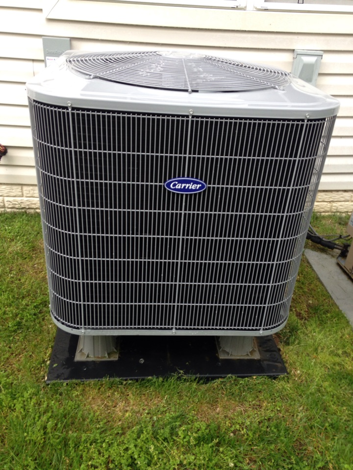 Gambrills, MD - Gambrills Maryland heat pump ac air conditioning & heating system installation repair service call.