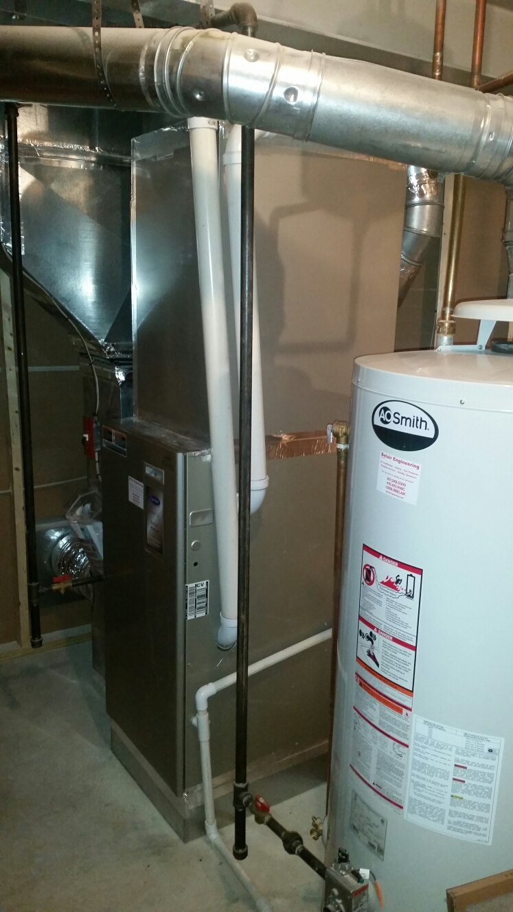 Gambrills, MD - AC air conditioning & heating system installation repair service call in Gambrills Maryland 21054
