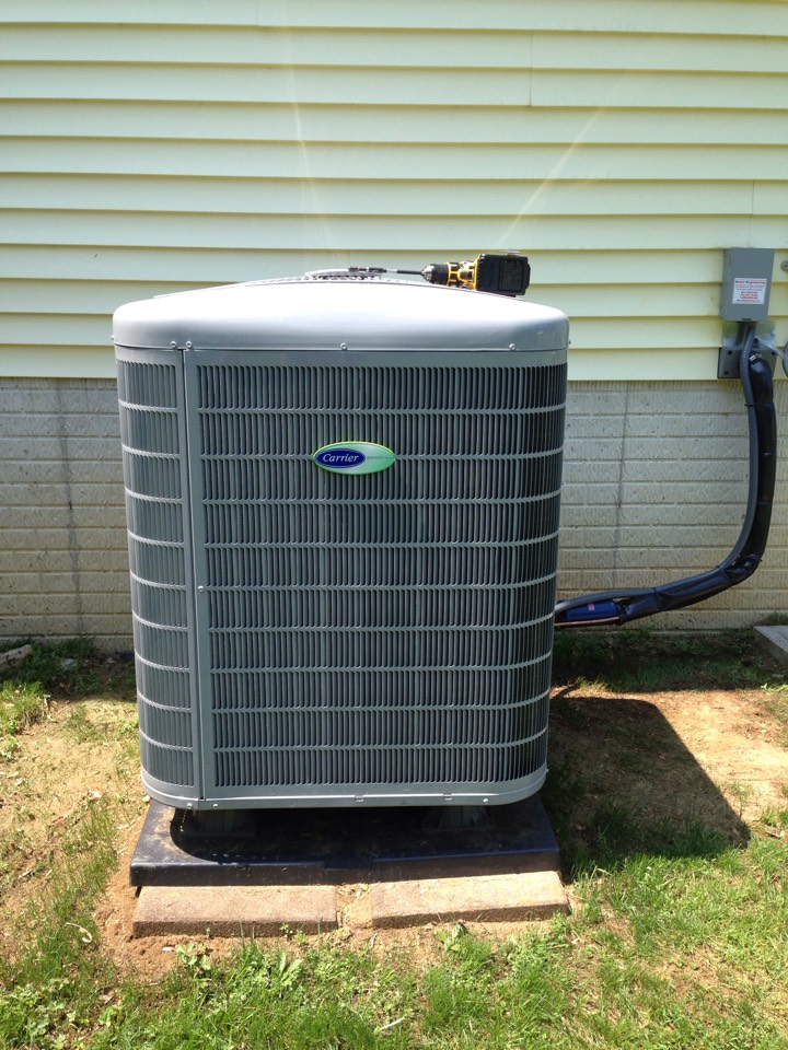 Gambrills, MD - Gambrills Maryland heat pump ac air conditioning & heating system replacement installation repair service call.