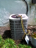 Gambrills, MD - Goodman ac air conditioning & heating system replacement installation repair service call in Gambrills Maryland 21054