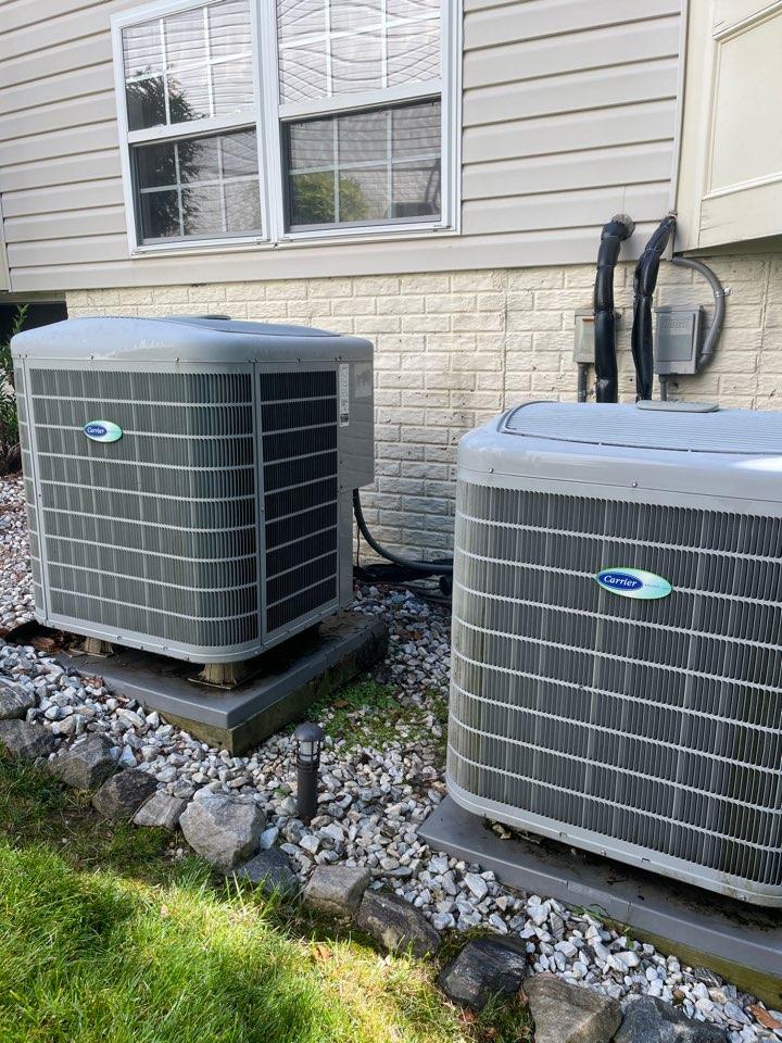 Chesapeake Beach, MD - Carrier air conditioning repair