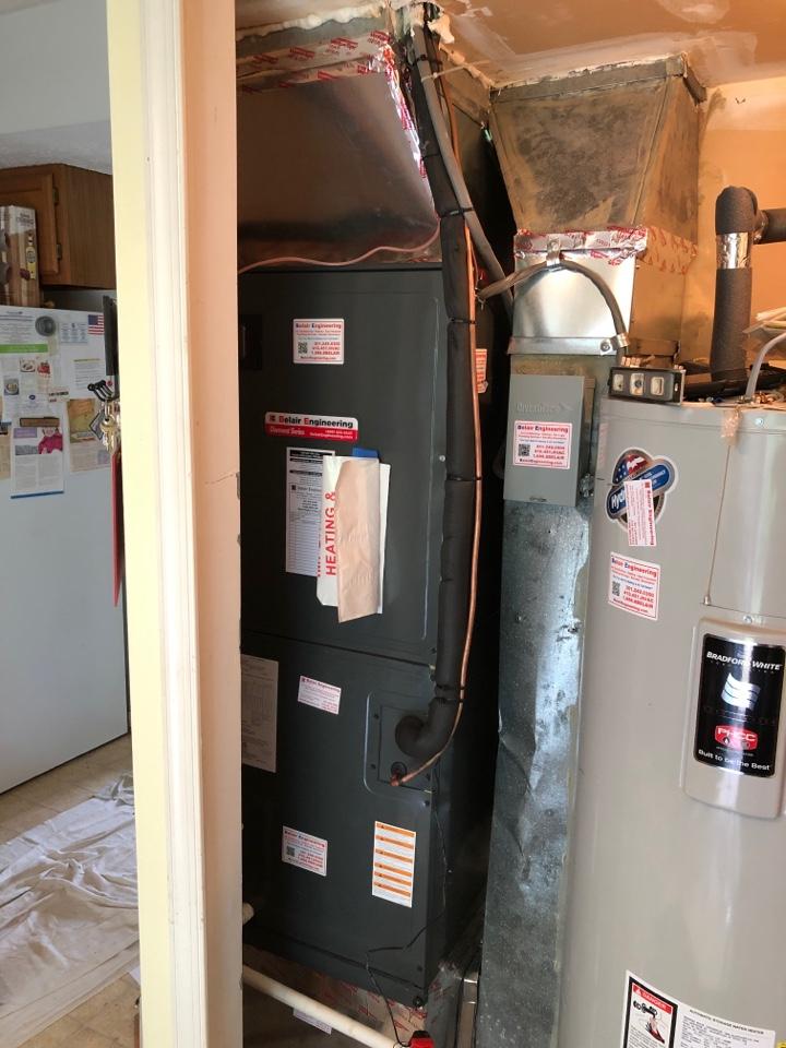 Waldorf, MD - Replace heat pump system