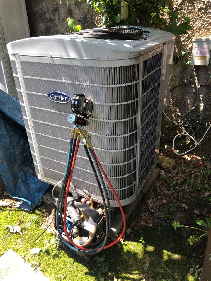 Greenbelt, MD - Heat pump repairs replacement of the TXV valve