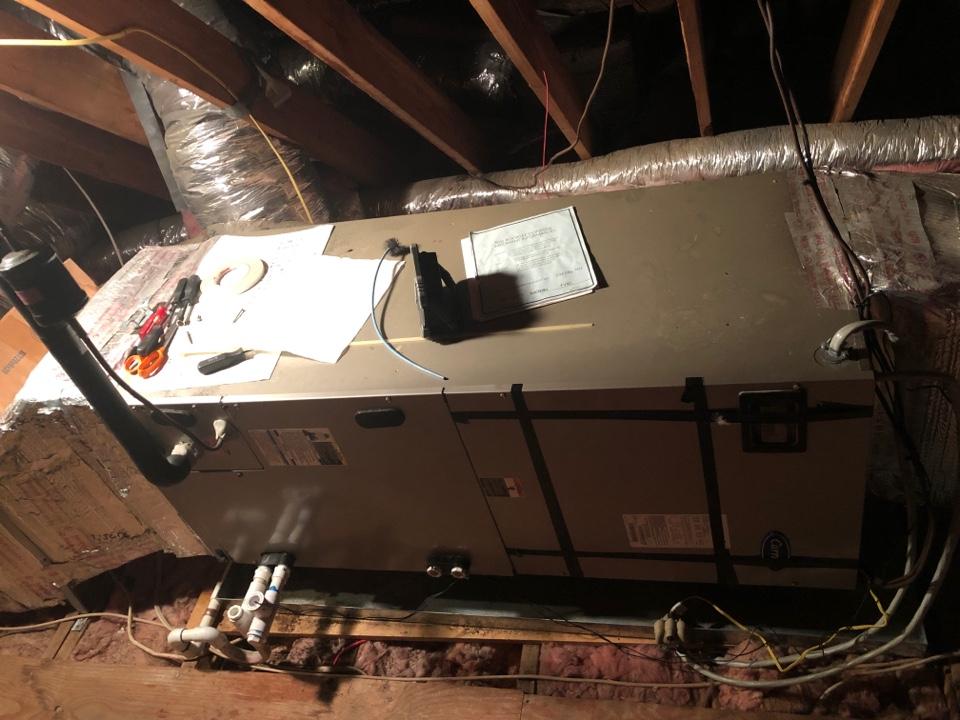 Edgewater, MD - Air handler repairs