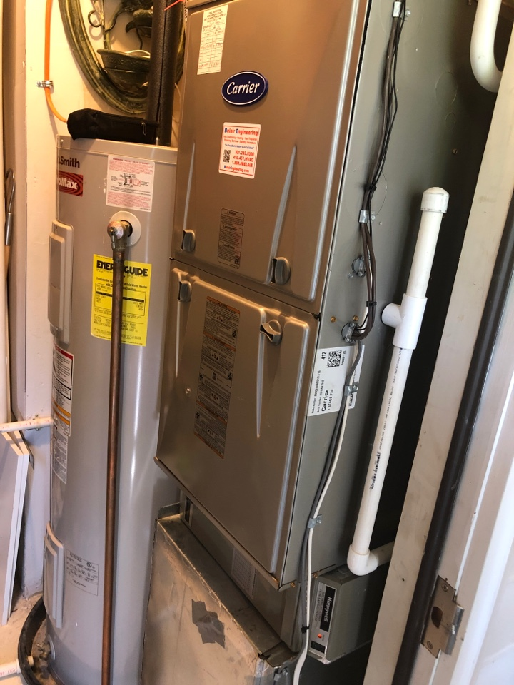 Odenton, MD - Carrier Ac maintenance repair services with Flood protection and electronic air cleaner