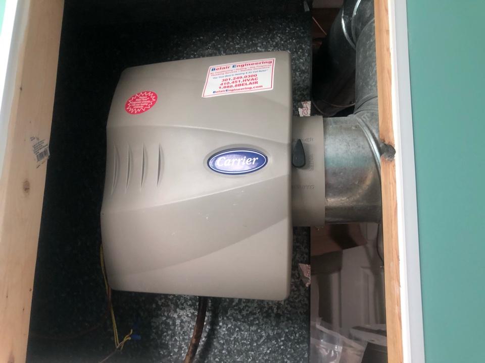 Severn, MD - Humidifier repair