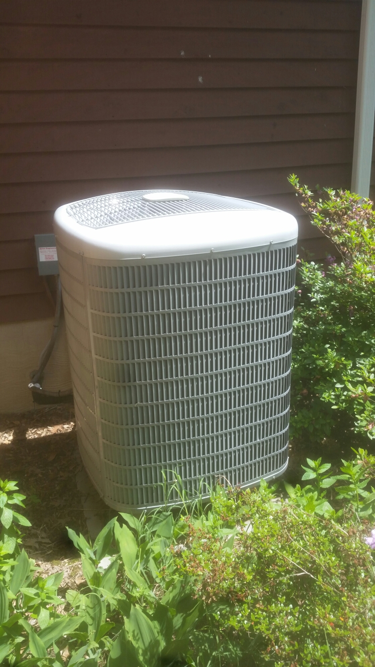Gambrills, MD - AC air conditioning & heating system maintenance repair service call in Gambrills Maryland 21054