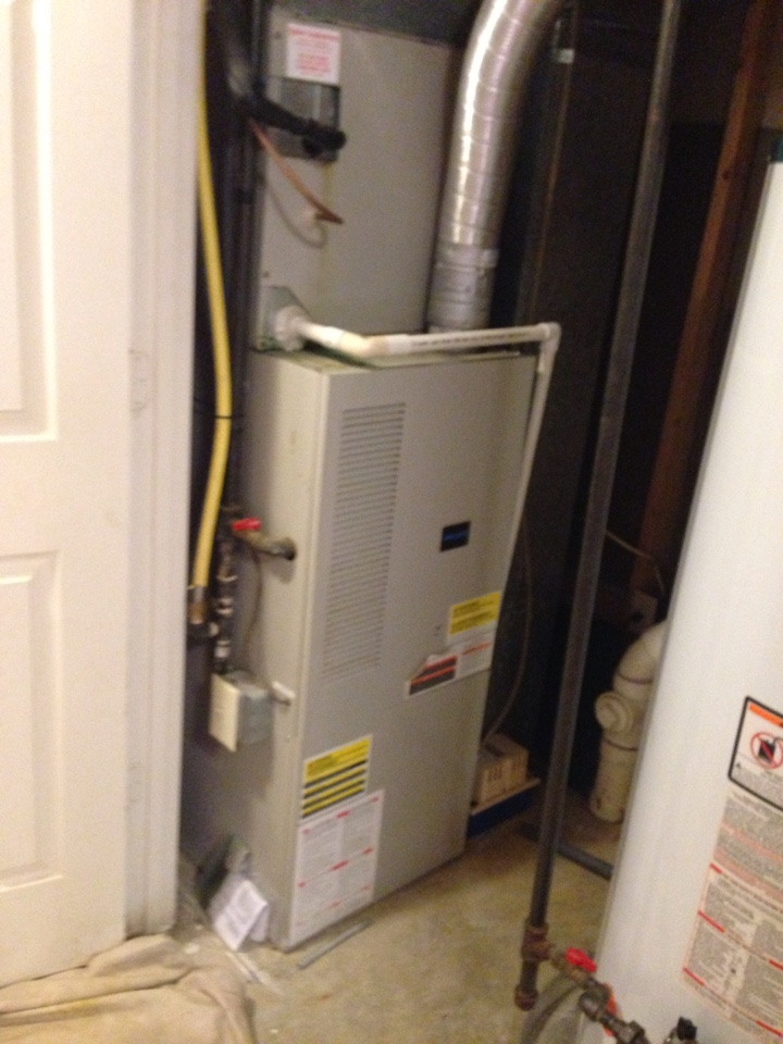 Crofton, MD - Trane ac air conditioning & heating system replacement installation repair service call in Crofton Maryland 21114