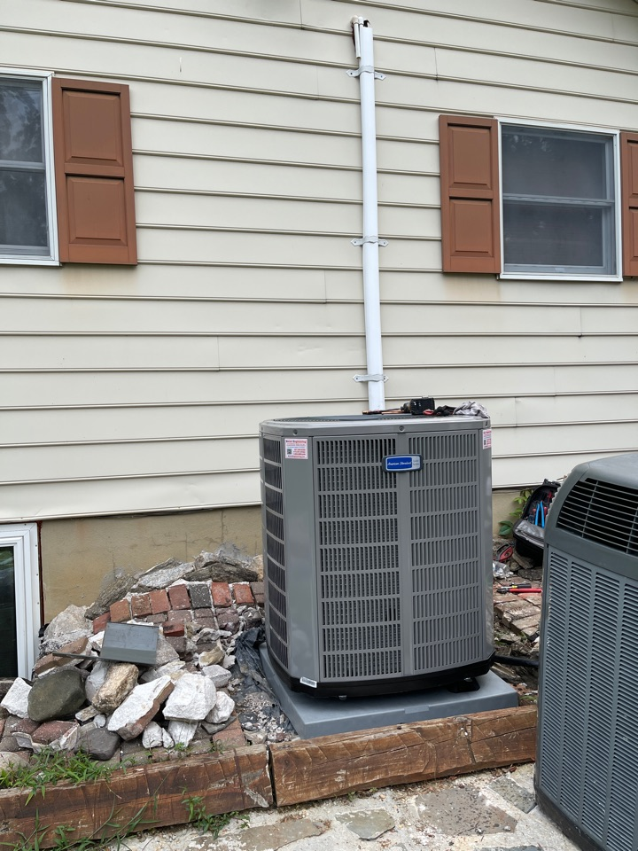 Edgewater, MD - Changing air handler and heat pump
