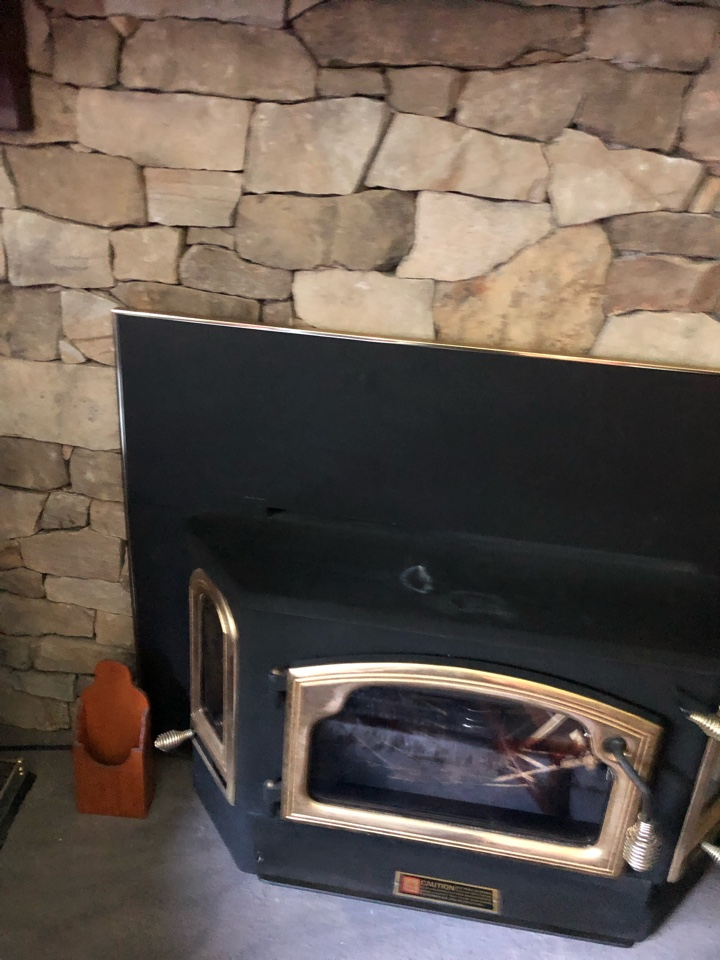 Owings, MD - Gas fireplace insert gas logs installation Owings Maryland