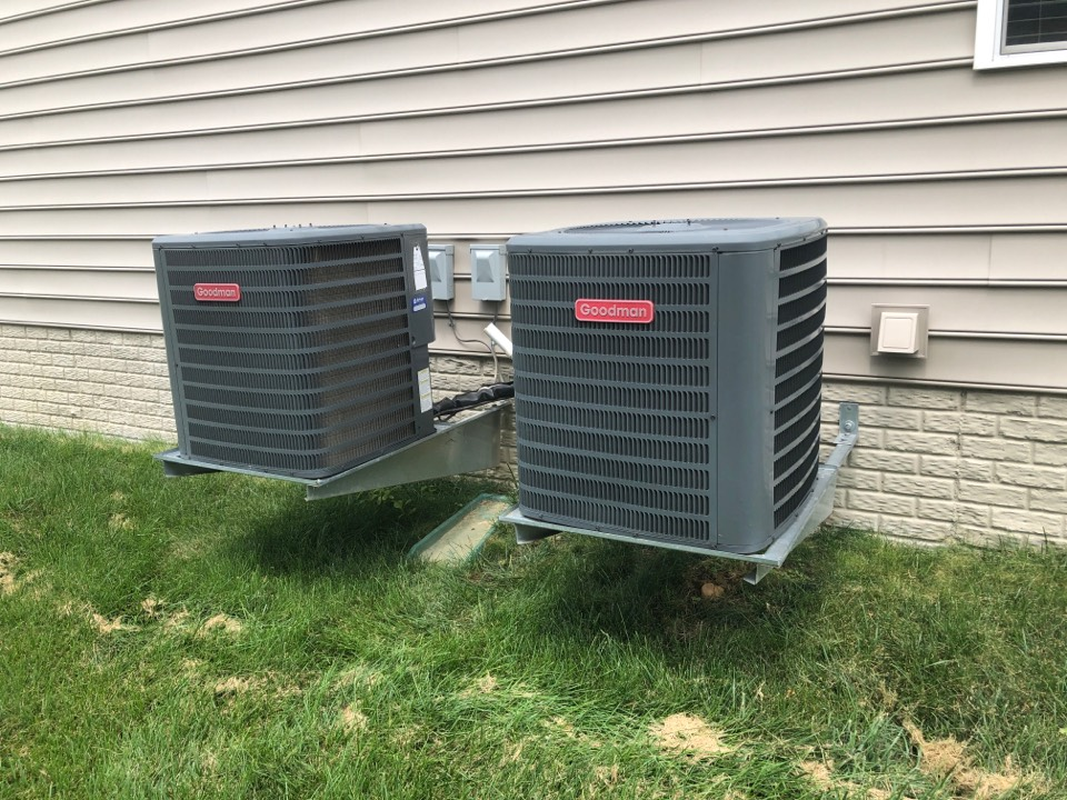 Laurel, MD - 2x Goodman Ac maintenance repair services with media filter and flood protection