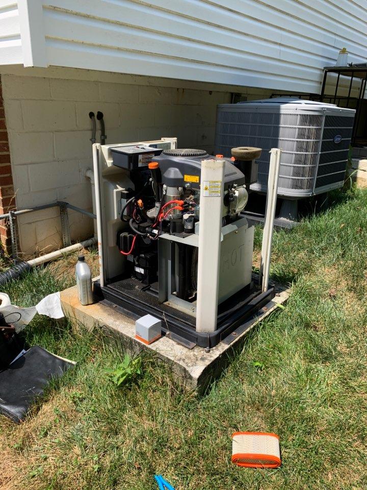 Fort Washington, MD - Honeywell standby generator repair service call Fort Washington Maryland