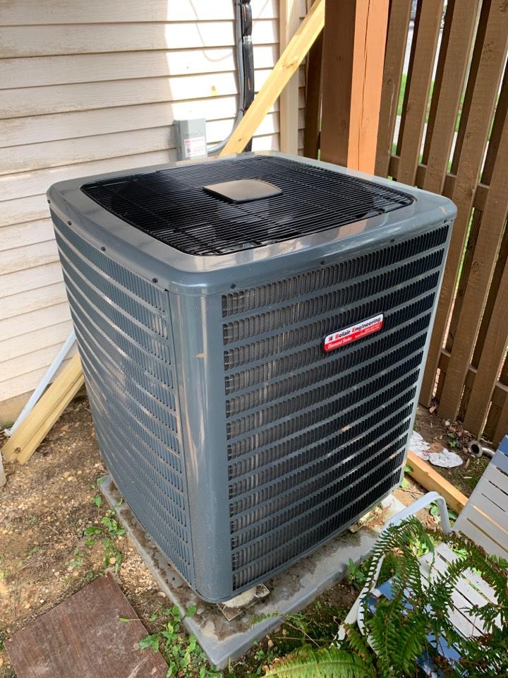 Lanham, MD - Goodman heat pump repair service call