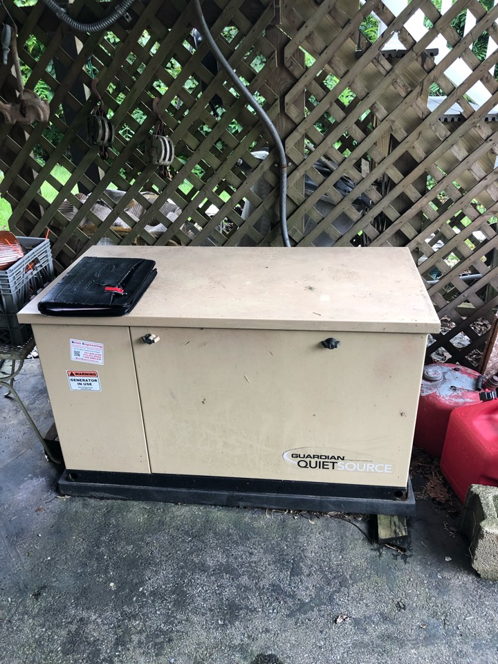 Harwood, MD - Generac Standby back up generator replacement installation in Harwood Maryland